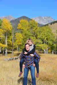 Aaron Christiansen and wife