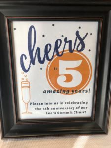 Cheers 5 Years Lee's Summit
