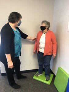 balance and vestibular rehab