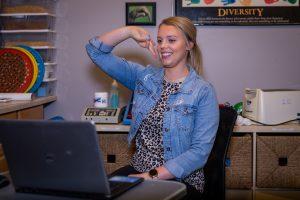 lucy randolph telehealth in clinic